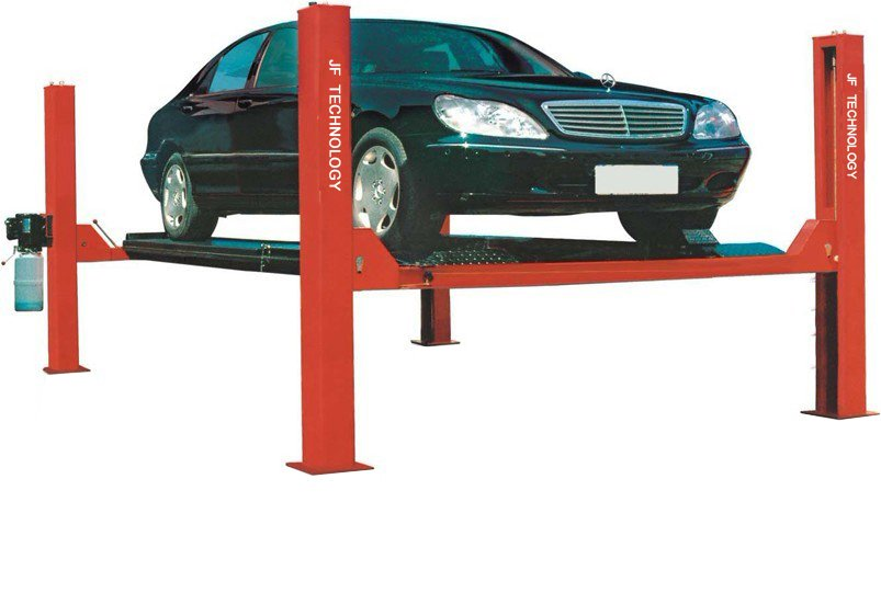 4 Post Car Lifts: SUPPORT / Car Lift Knowledge / Four Post Lift Features_J&F